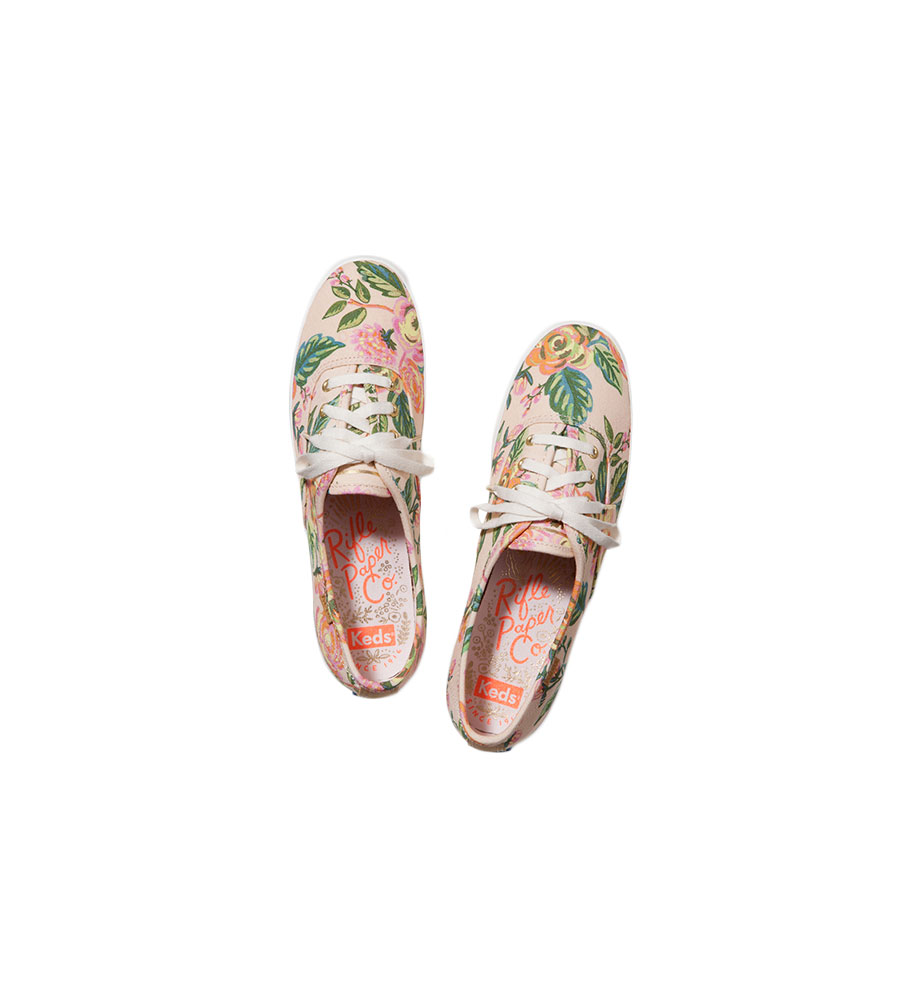 Rifle Paper Co x Keds