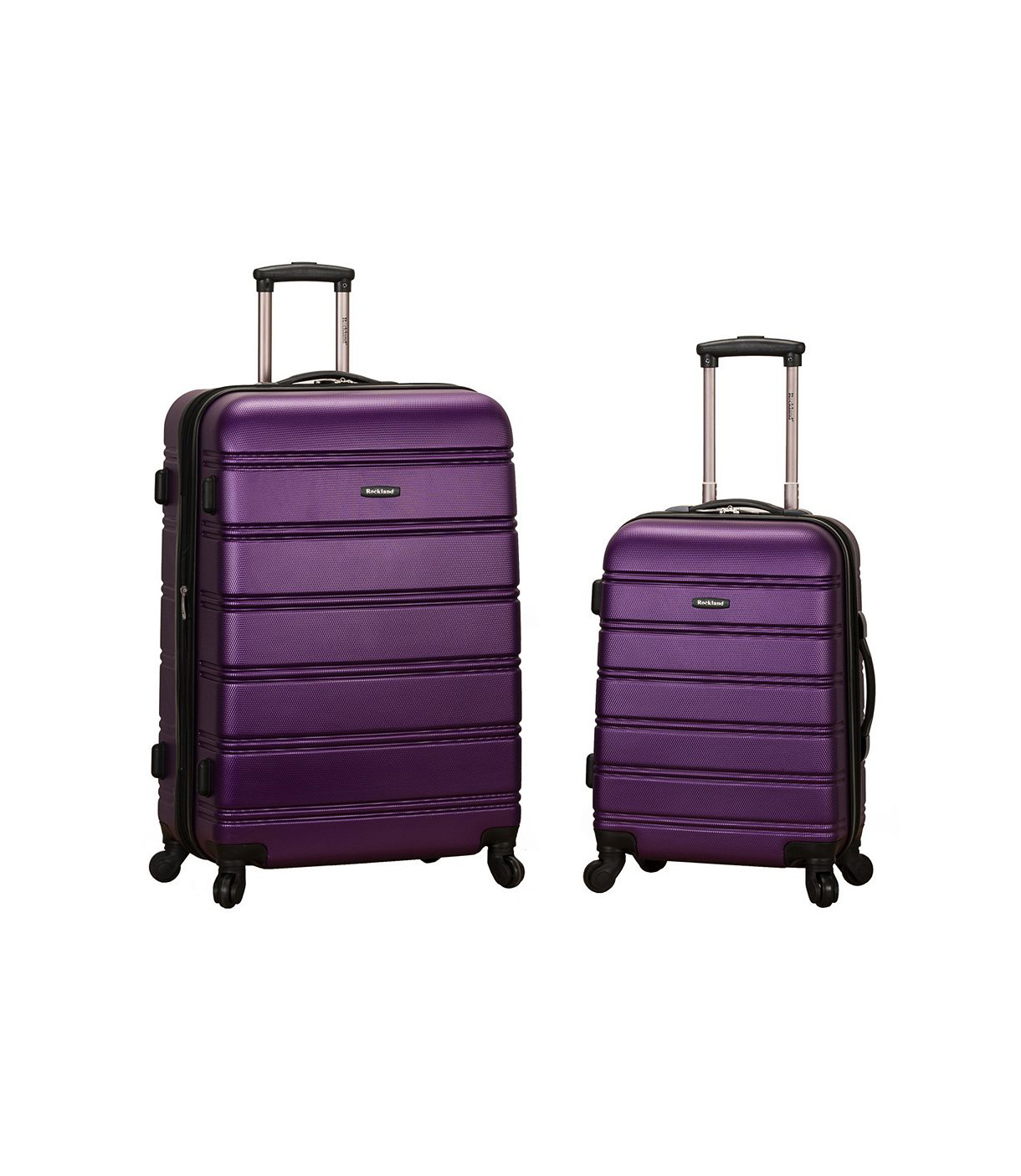 Rockland 2 Piece Hardside Spinner Luggage Set