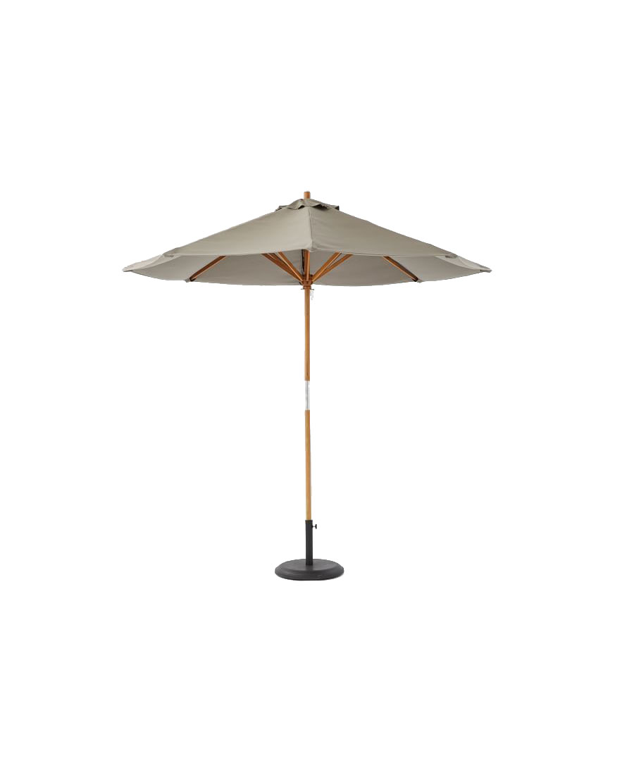 Round Wooden Umbrella