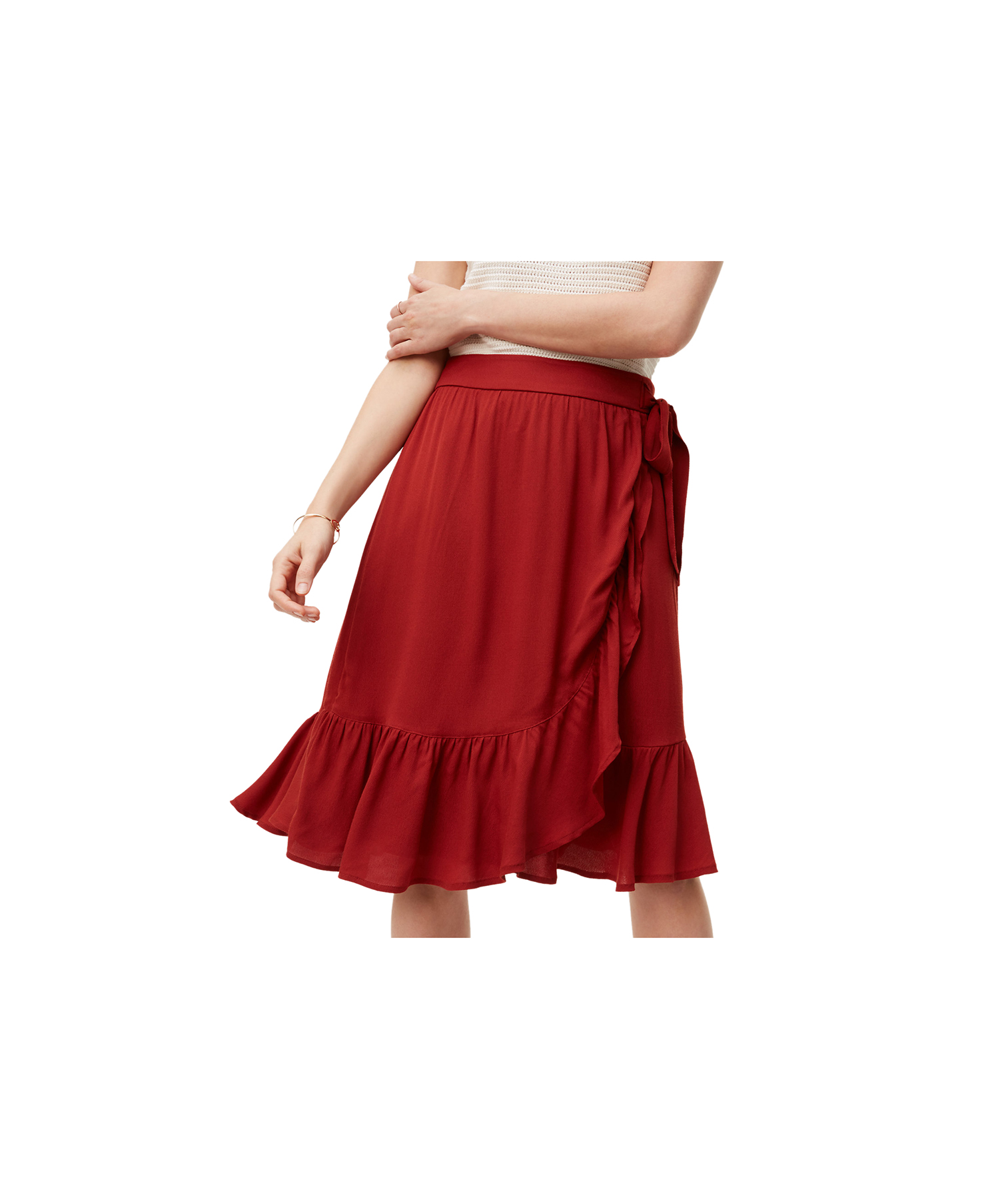 ruffle-wrap-skirt