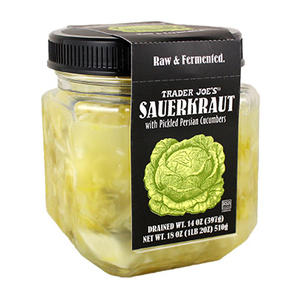 Trader Joe's Raw Sauerkraut with Persian Cucumbers