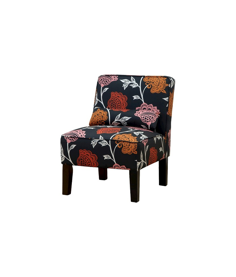 Seedling by Thomas Paul Slipper Chair in Garden Court Orange