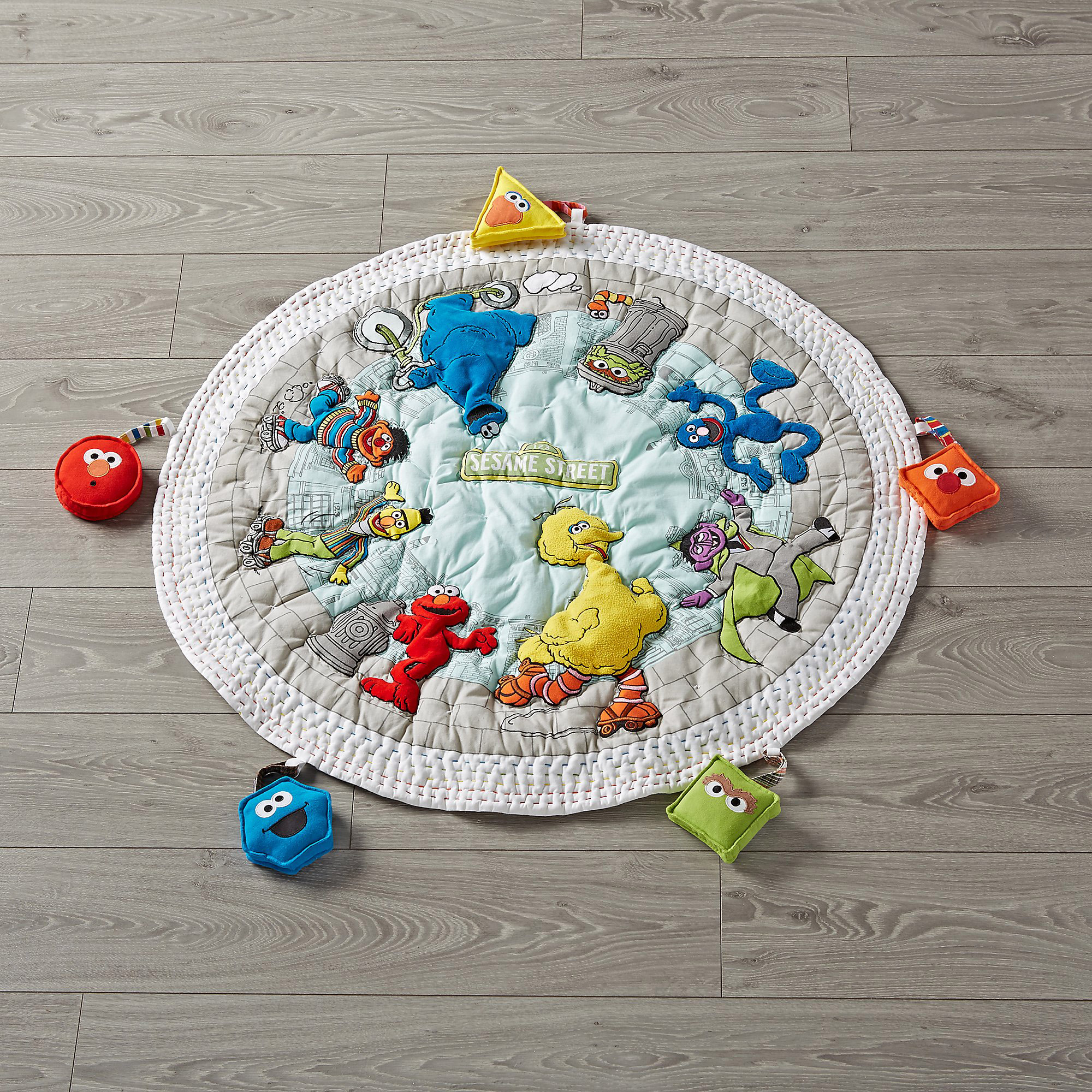 Sesame Street Play Mat with Gym Toys