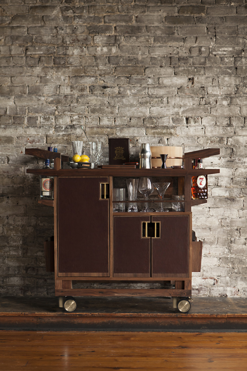 The Sidecar Bar Cart by Moore & Giles and Jim Meehan
