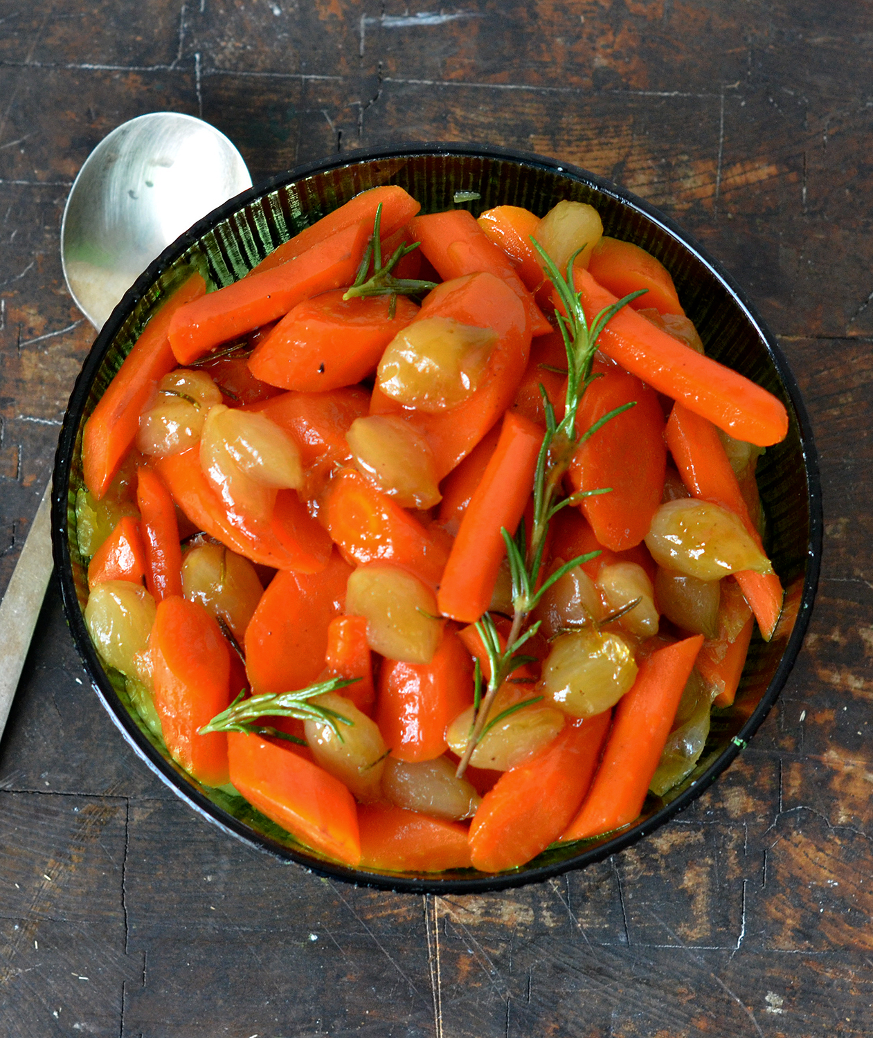 Honey Glazed Carrots and Pearl Onions