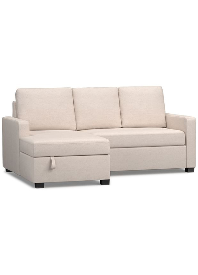 Soma Bryant Upholstered Sofa With Storage Chaise Sectional