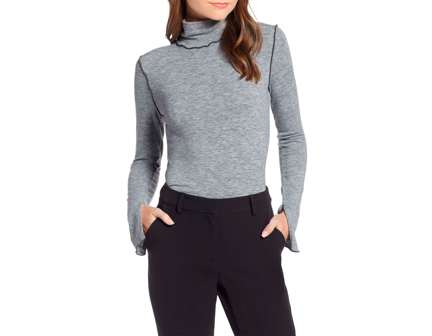 Something Navy x Nordstrom Collection Knit Sweater