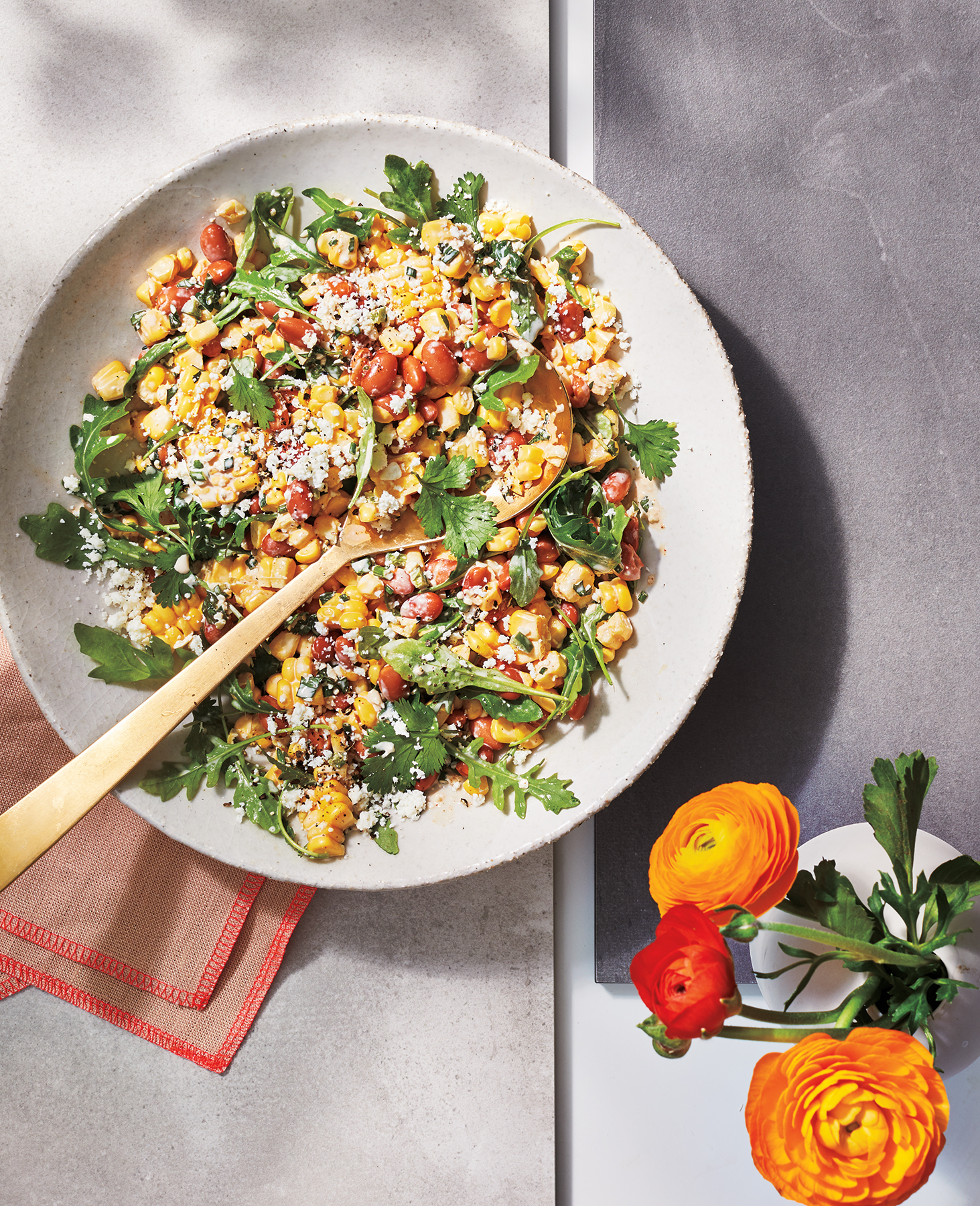 Spicy Street Corn Salad