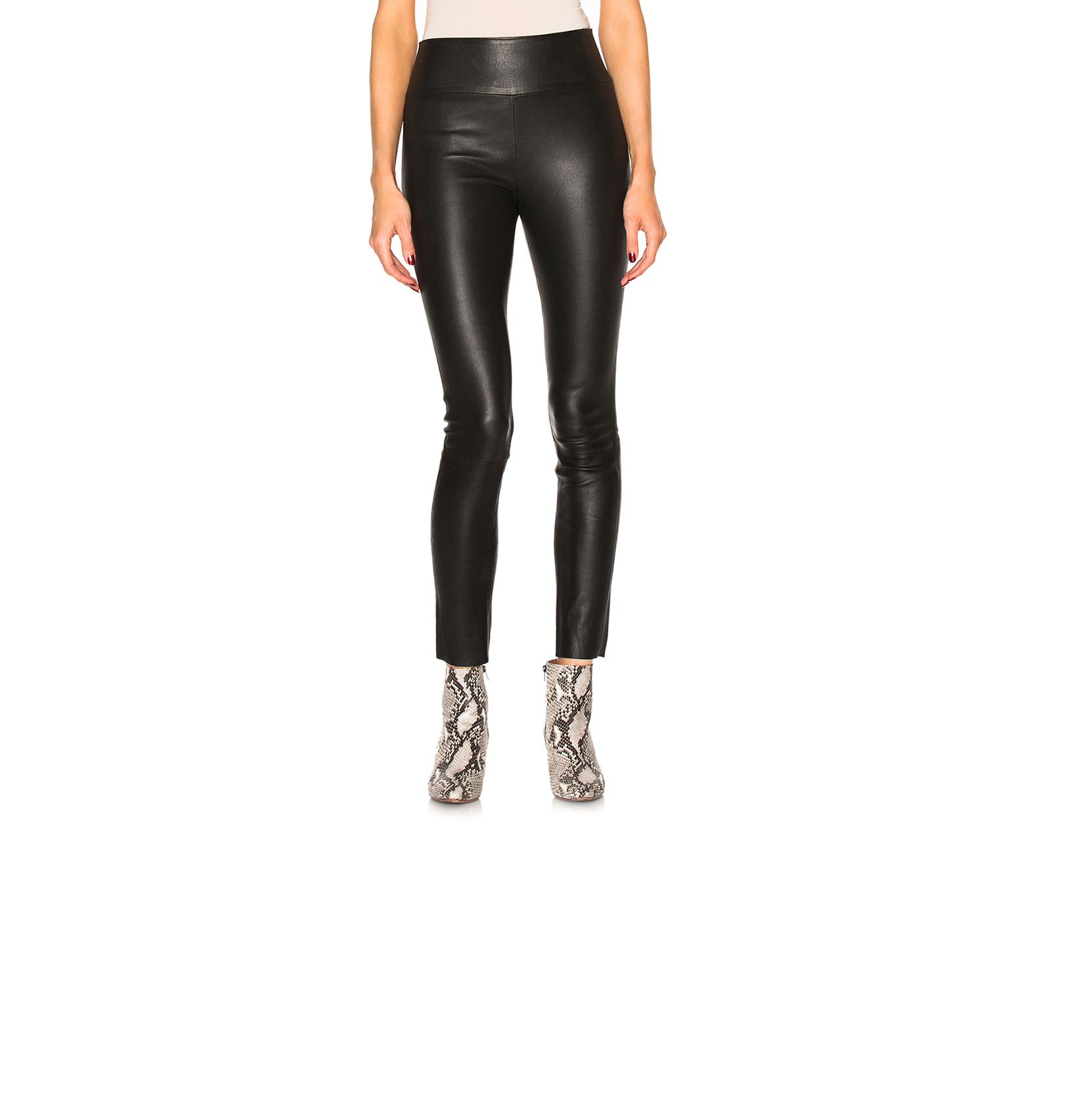 SPRWMN high waist leather leggings