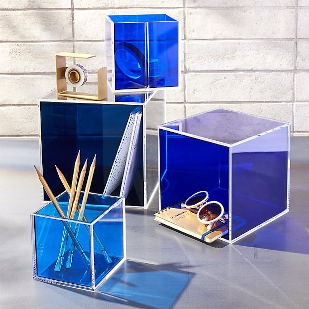 Cool Storage Bins from CB2