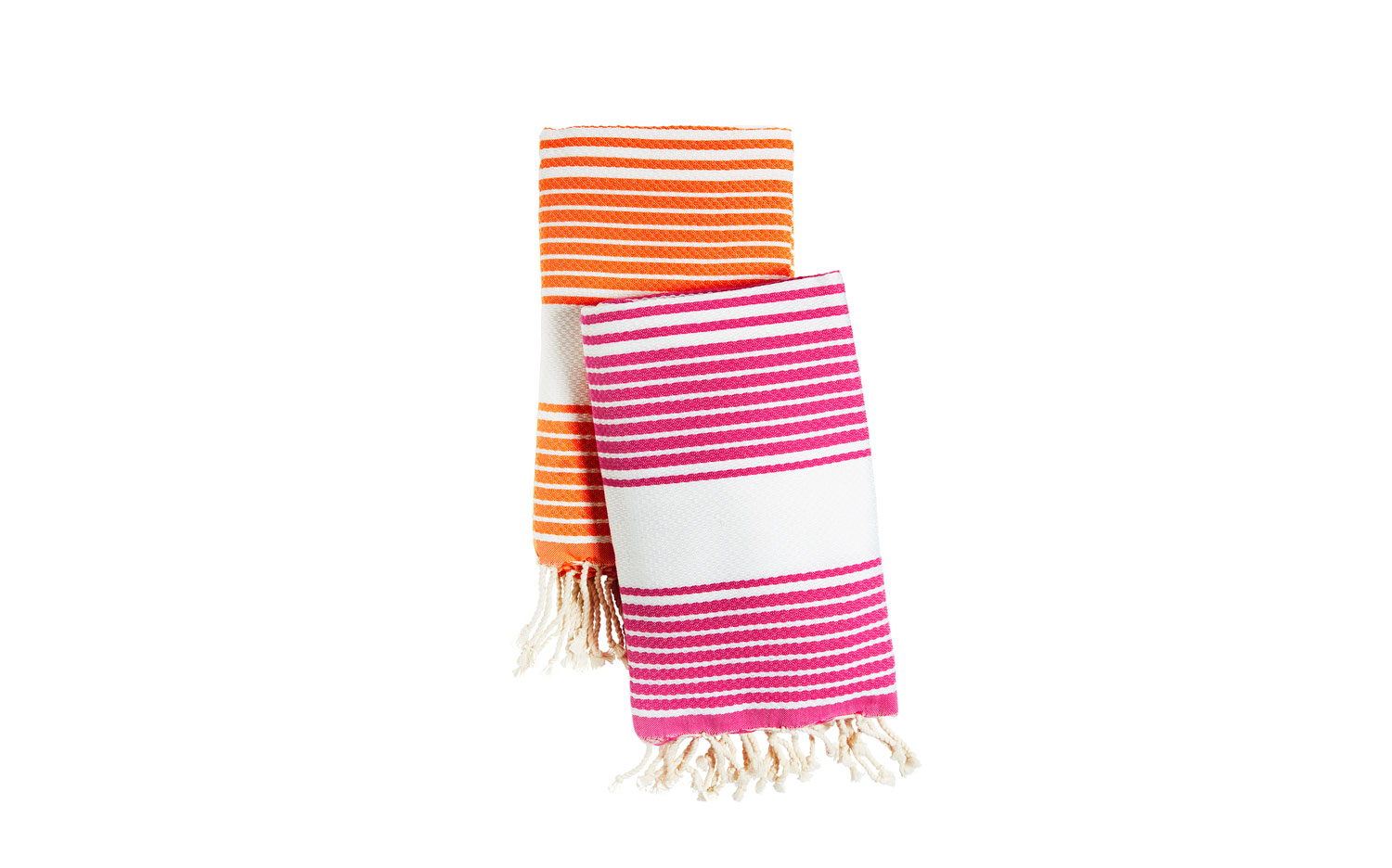 Honeycomb Weavy Stripes Fouta Towels