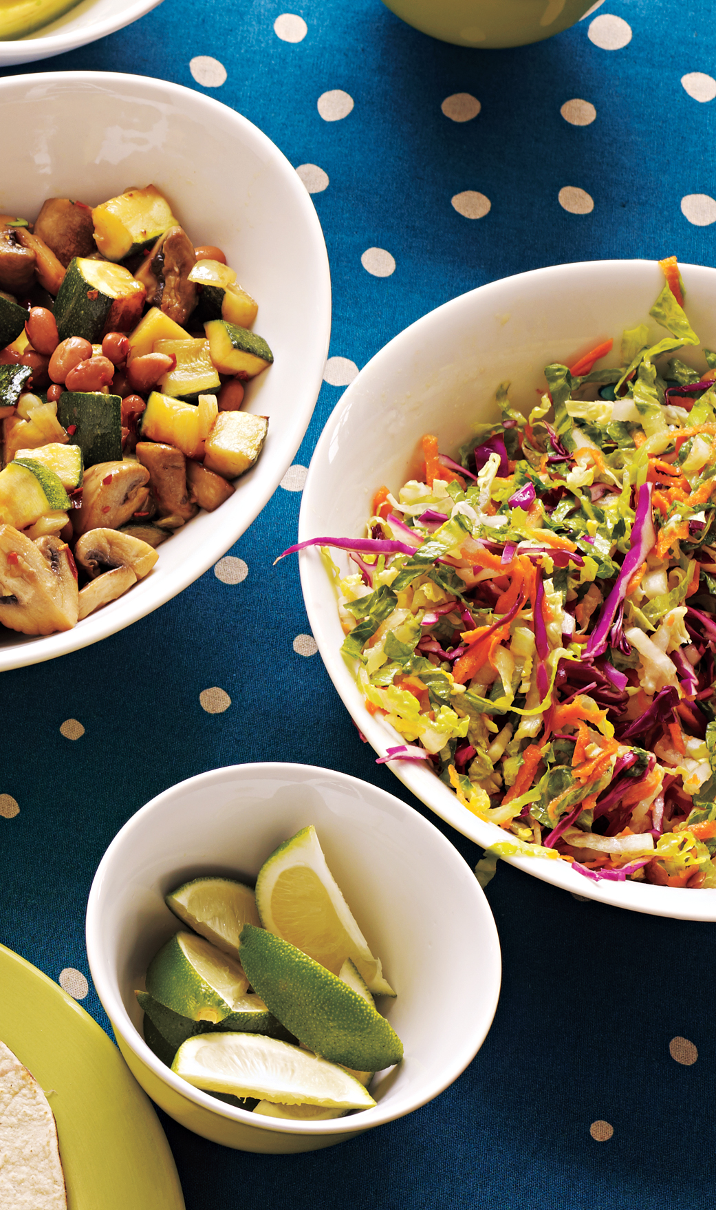 Sweet and Tangy Romaine Slaw