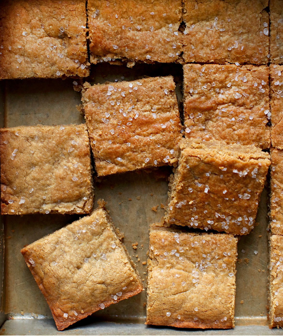 tahini-blondies