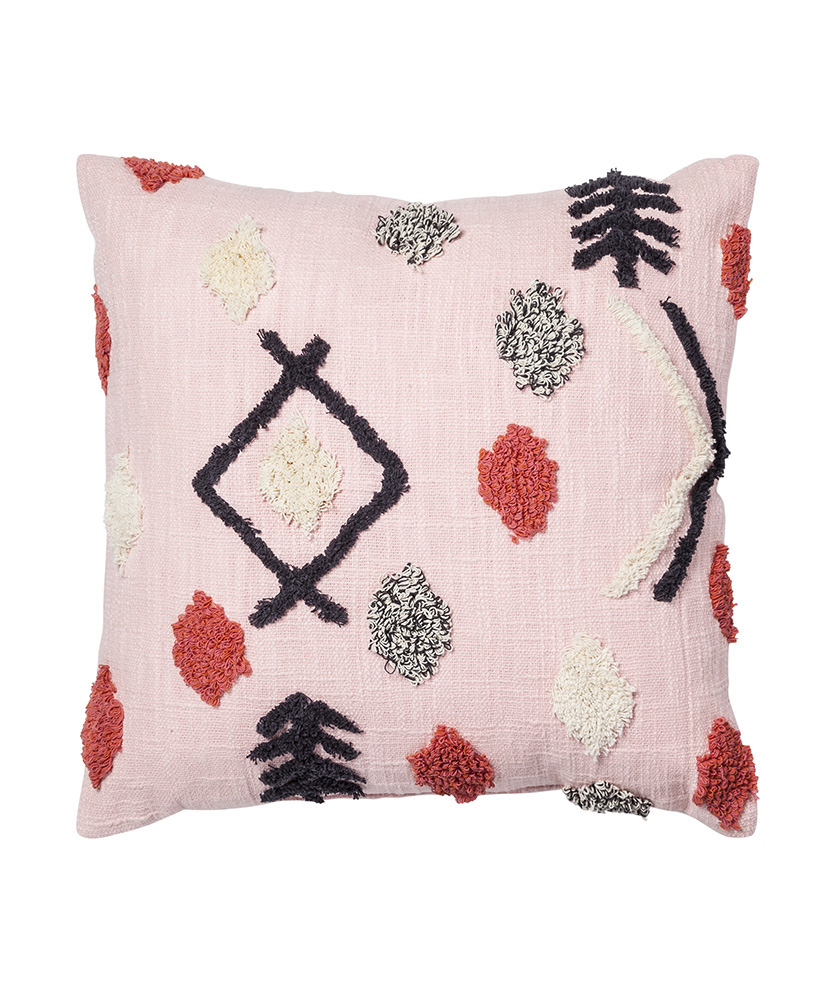 Opalhouse Global Pink Tufted Pillow