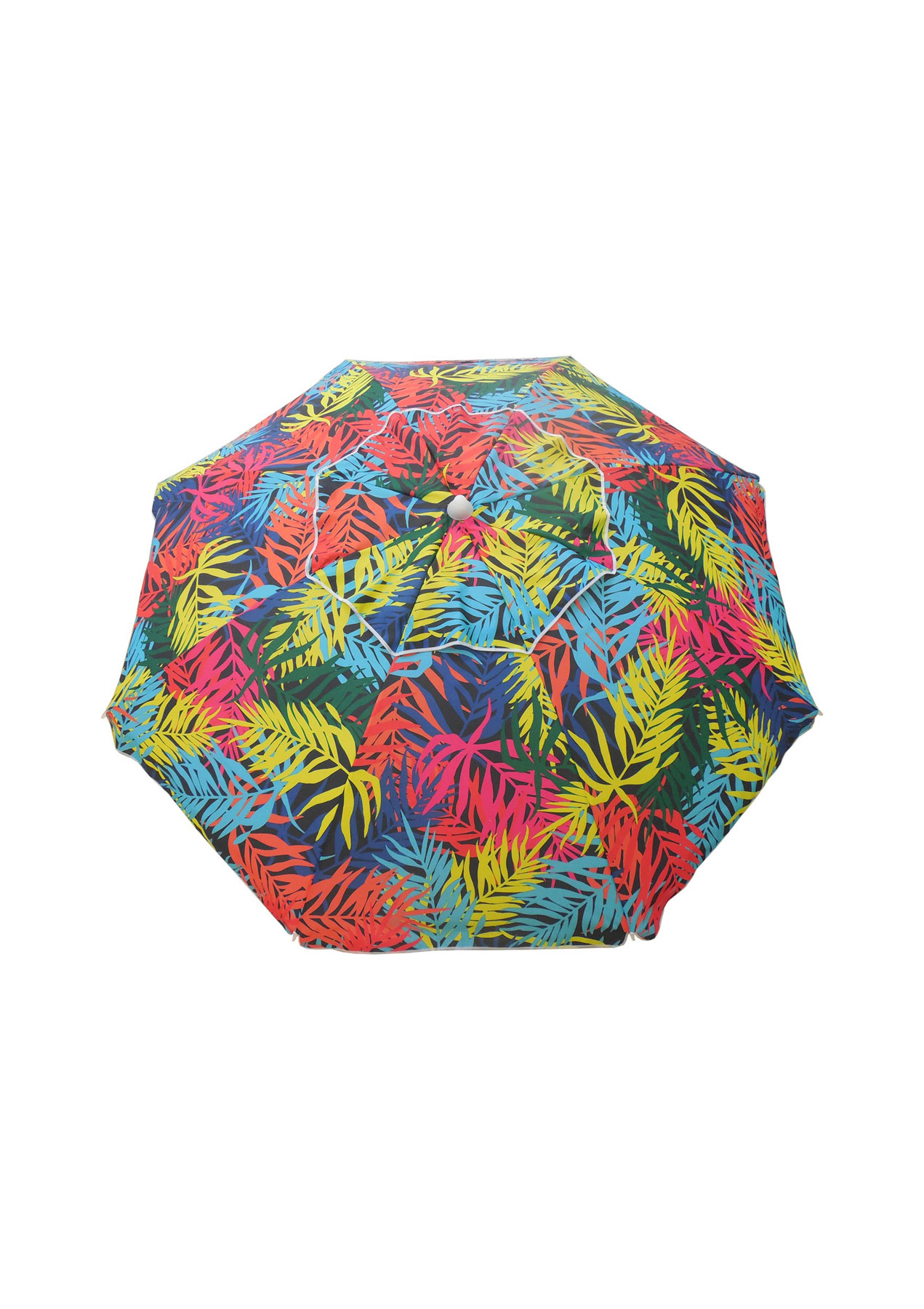 Target 7' Beach Umbrella with Palm Trees