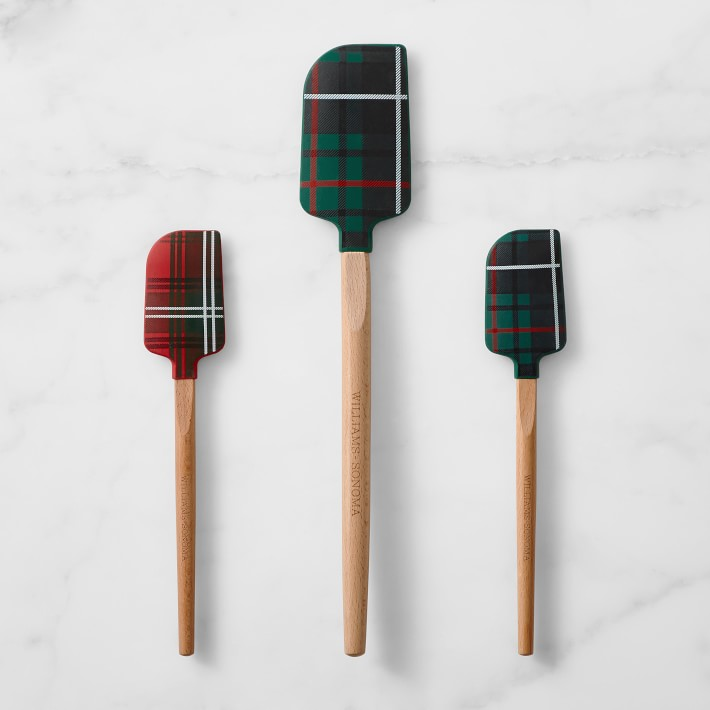 Tartan Silicone Spatulas (The Best of Williams Sonoma Holiday)