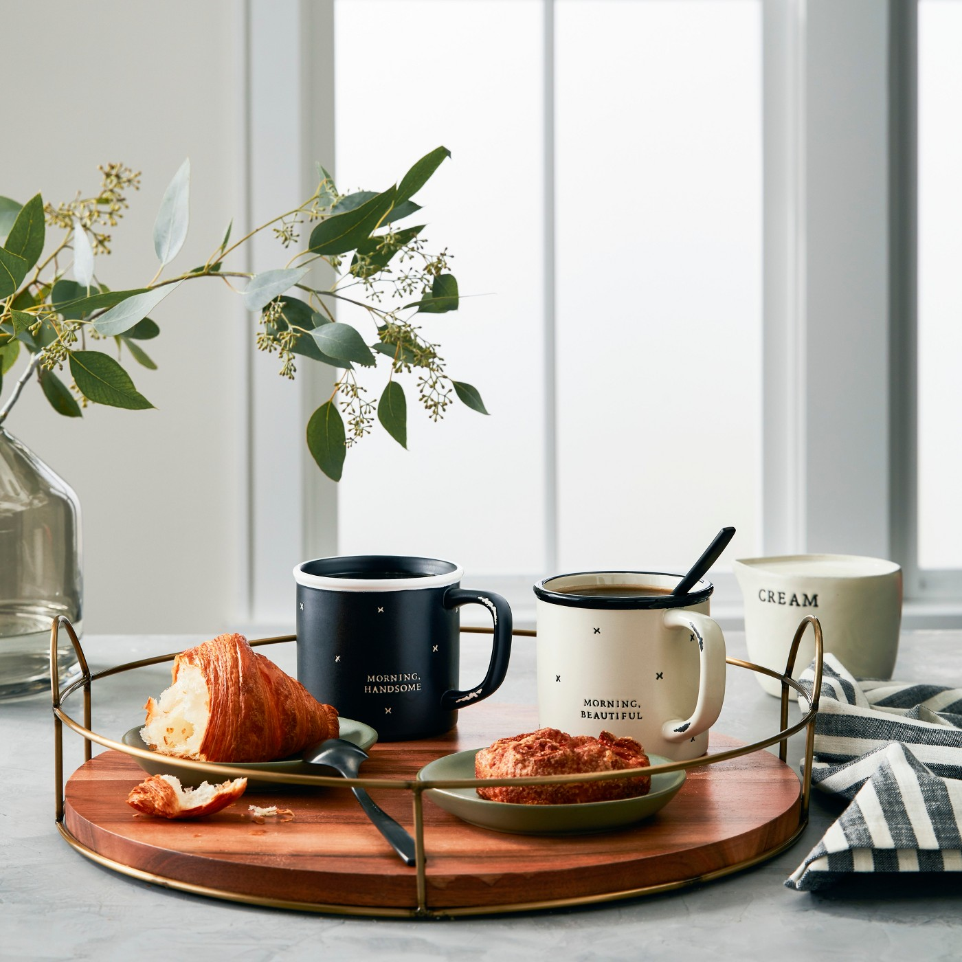 Joanna Gaines Target Fall Collection, wood and wire tray
