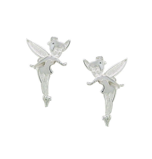 Disney Sterling Silver Tinker Bell Stud Earrings