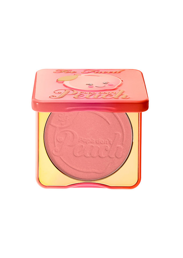 Peach Cheeks: Too Faced Sweet Peach Papa Don't Peach Blush