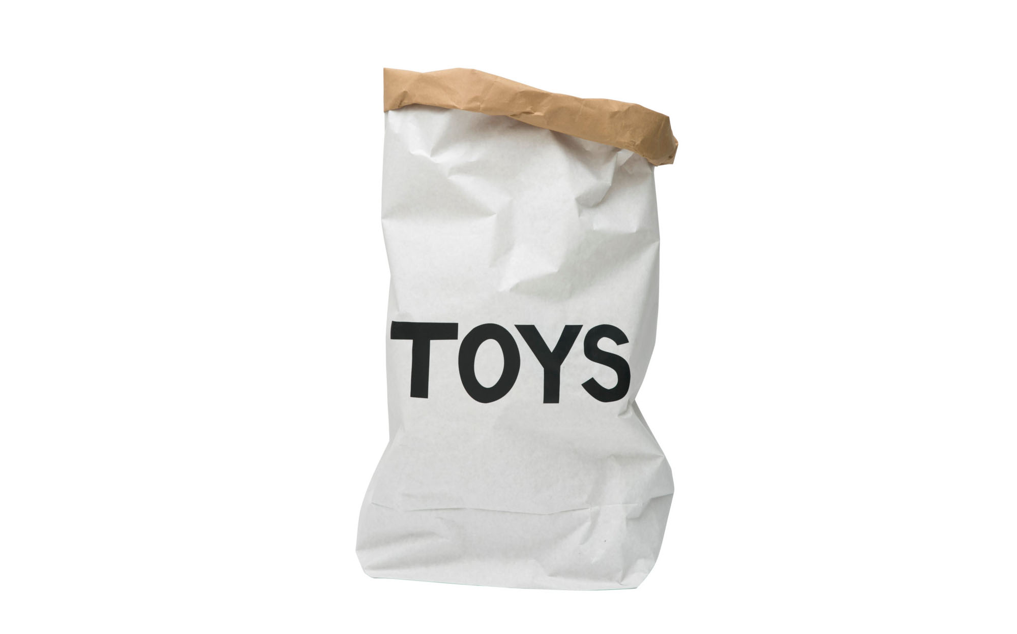 Tellkiddo TOYS small paper bag storage of toys books or teddy bears