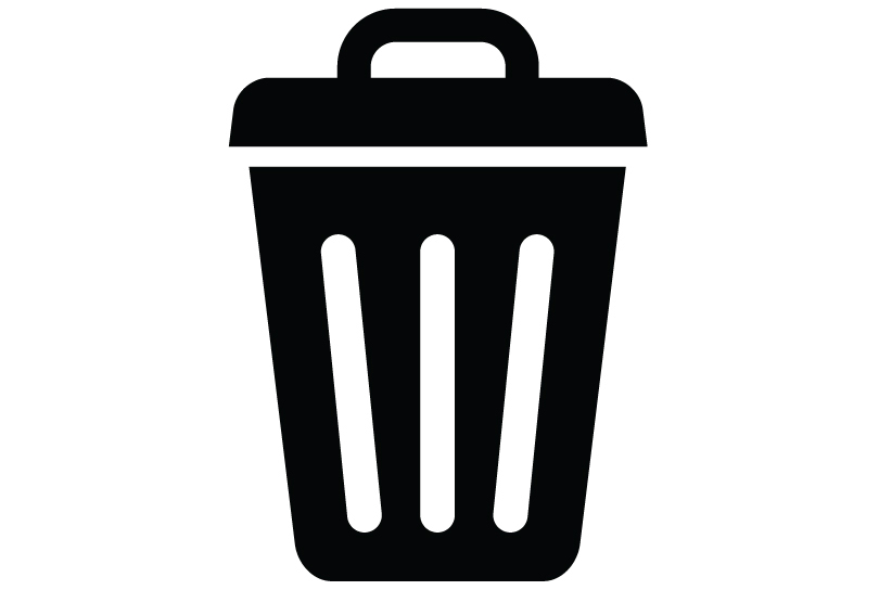Trash/delete icon