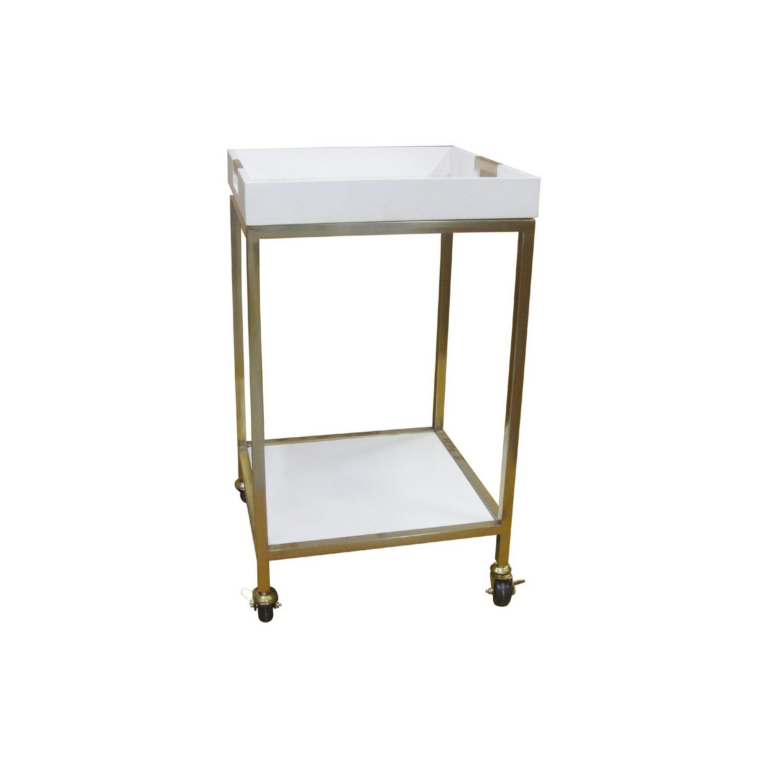 Bar Cart with Square Trays