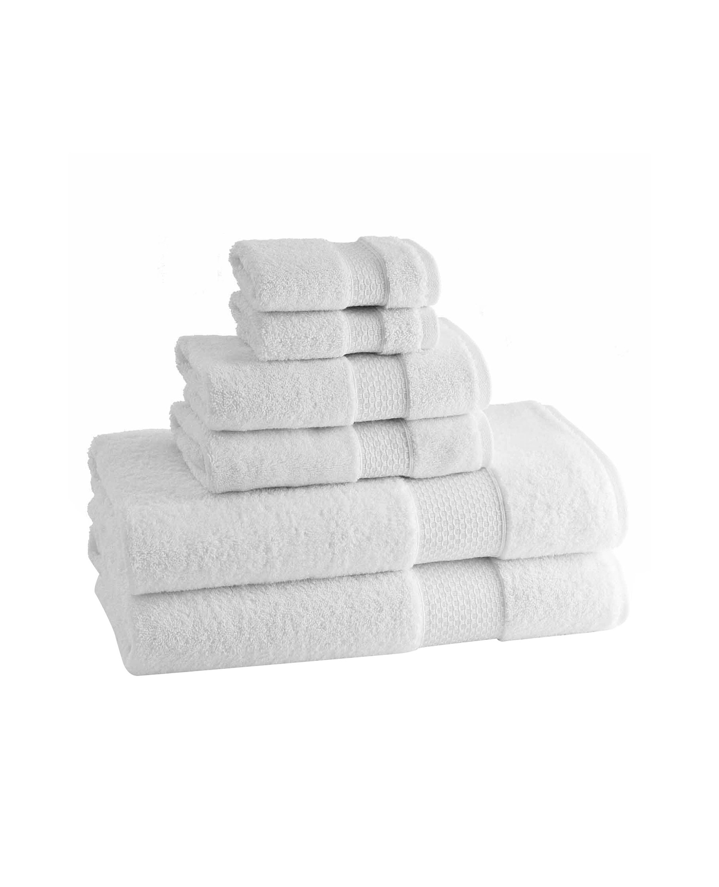 Kassatex Elegance Turkish Cotton Six Piece Towel Set