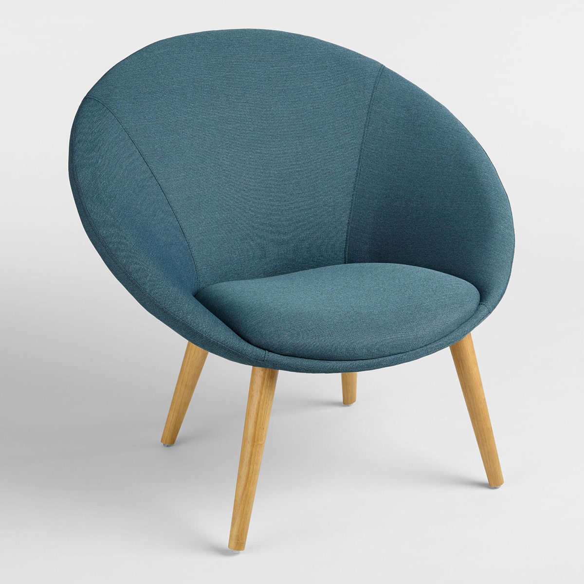 Turquoise Upholstered Dean Chair