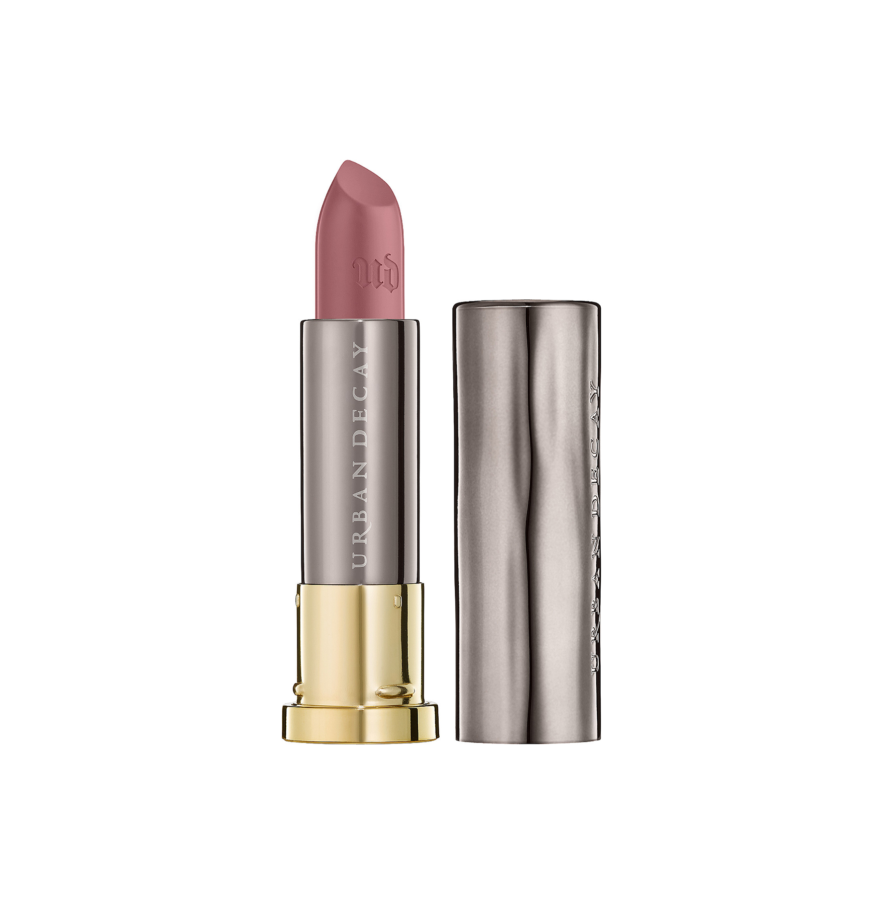 Mauve-Nude Lip: Urban Decay Vice Lipstick in Backtalk