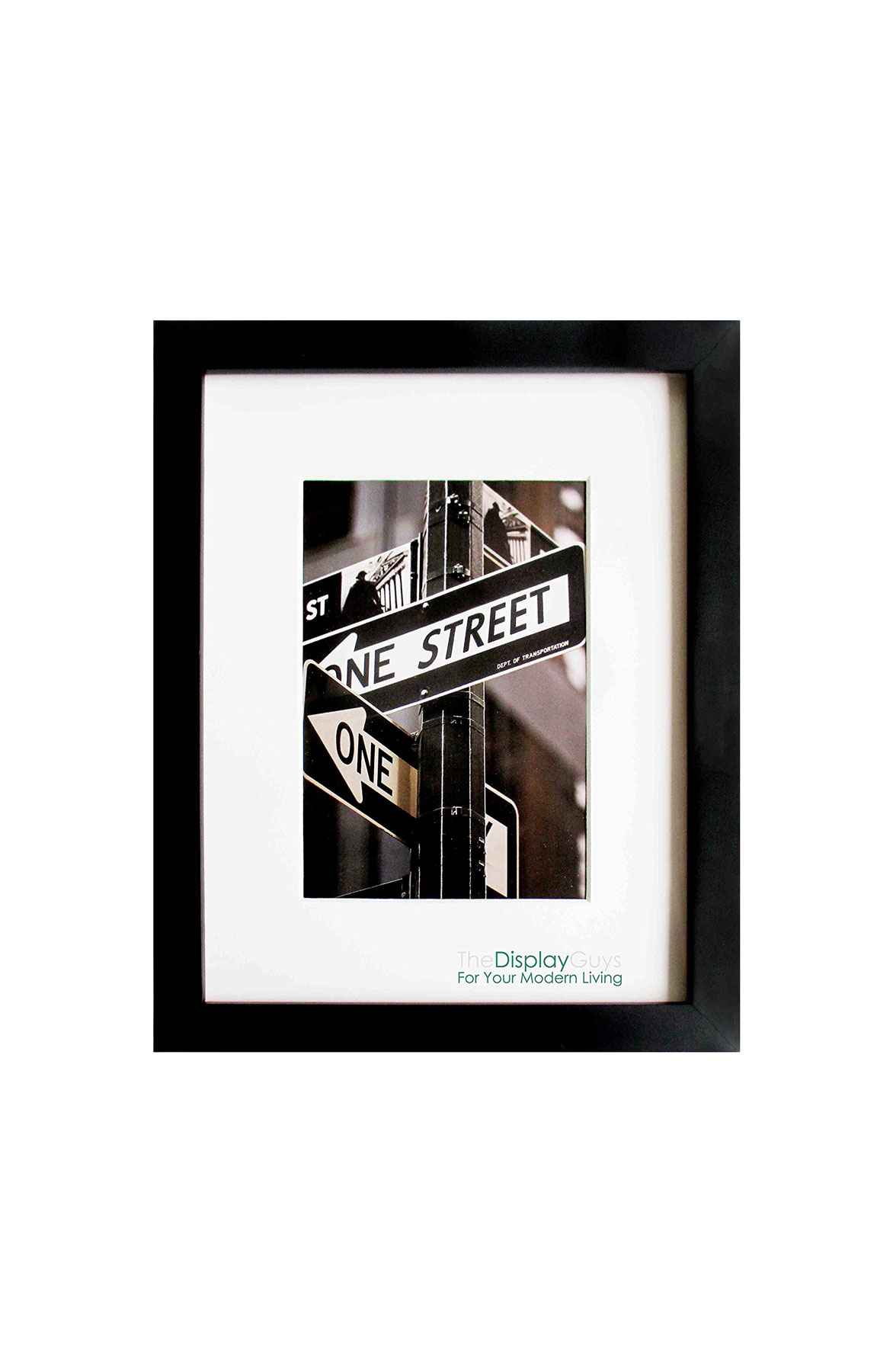 The Display Guys Matte Black Picture Frame