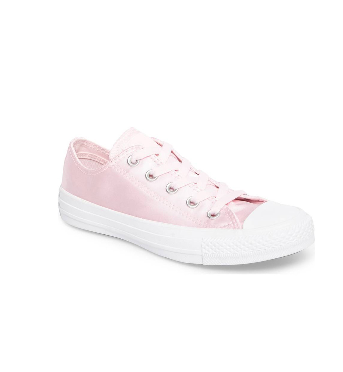 Chuck Taylor Pink Satin Sneakers