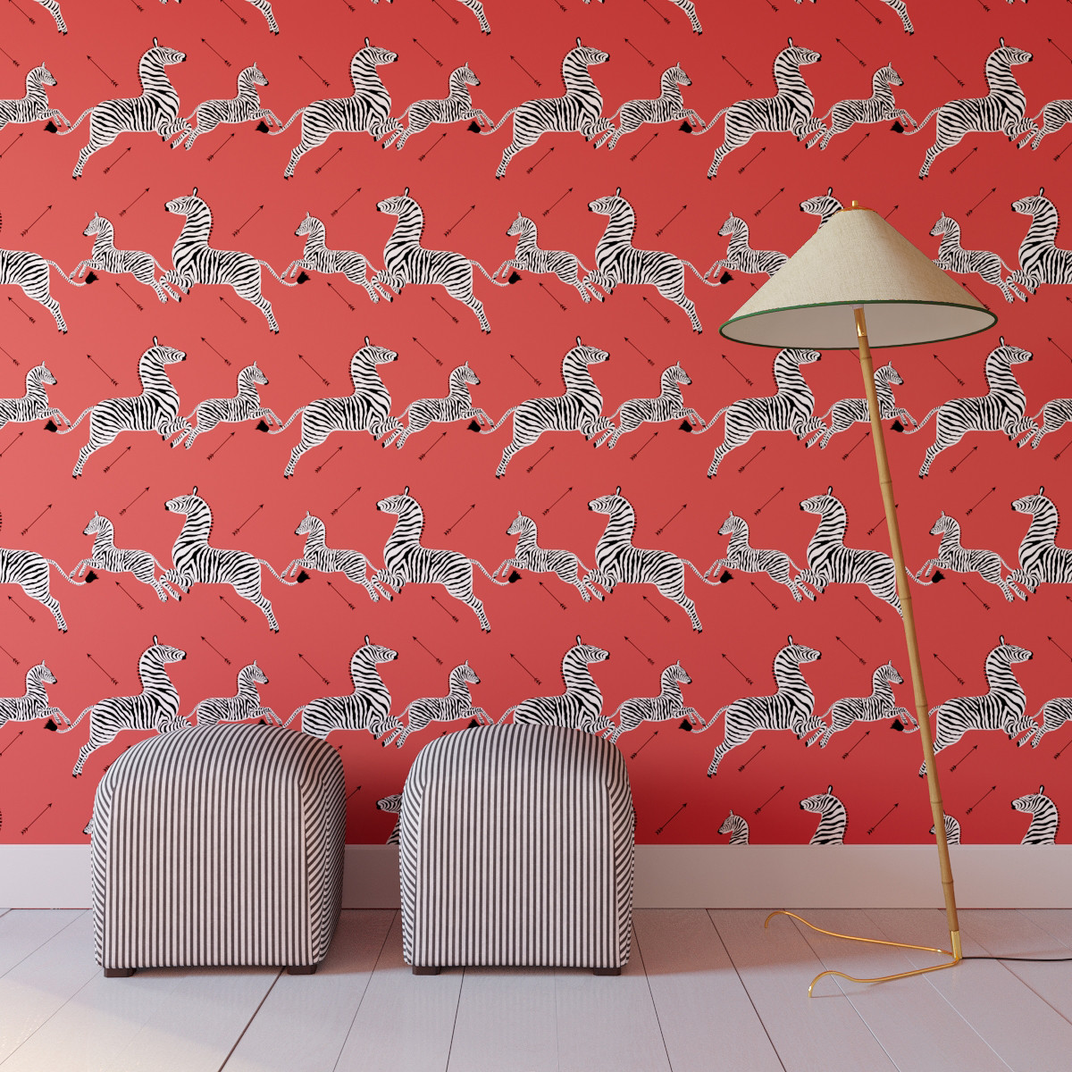 Bold Patterned Removable Wallpaper