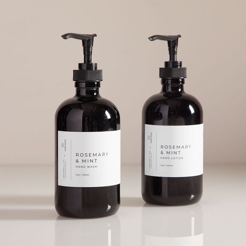 West Elm Water Street Soap and Lotion