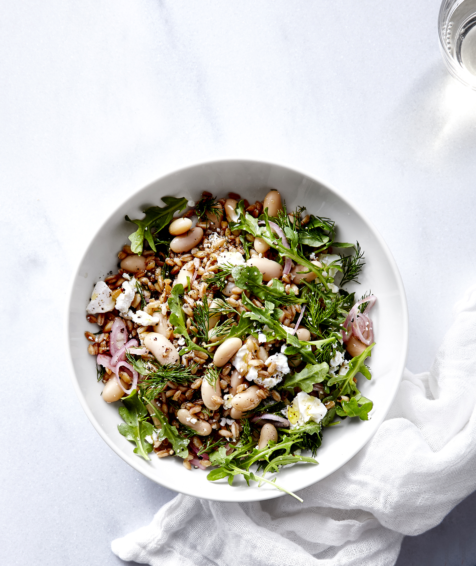 White Bean and Farro Salad