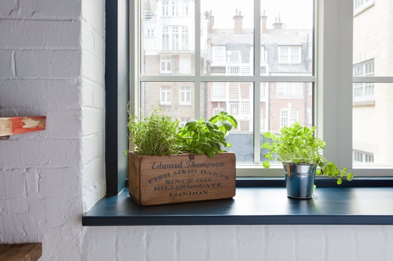 Use Your Windowsill for Storage