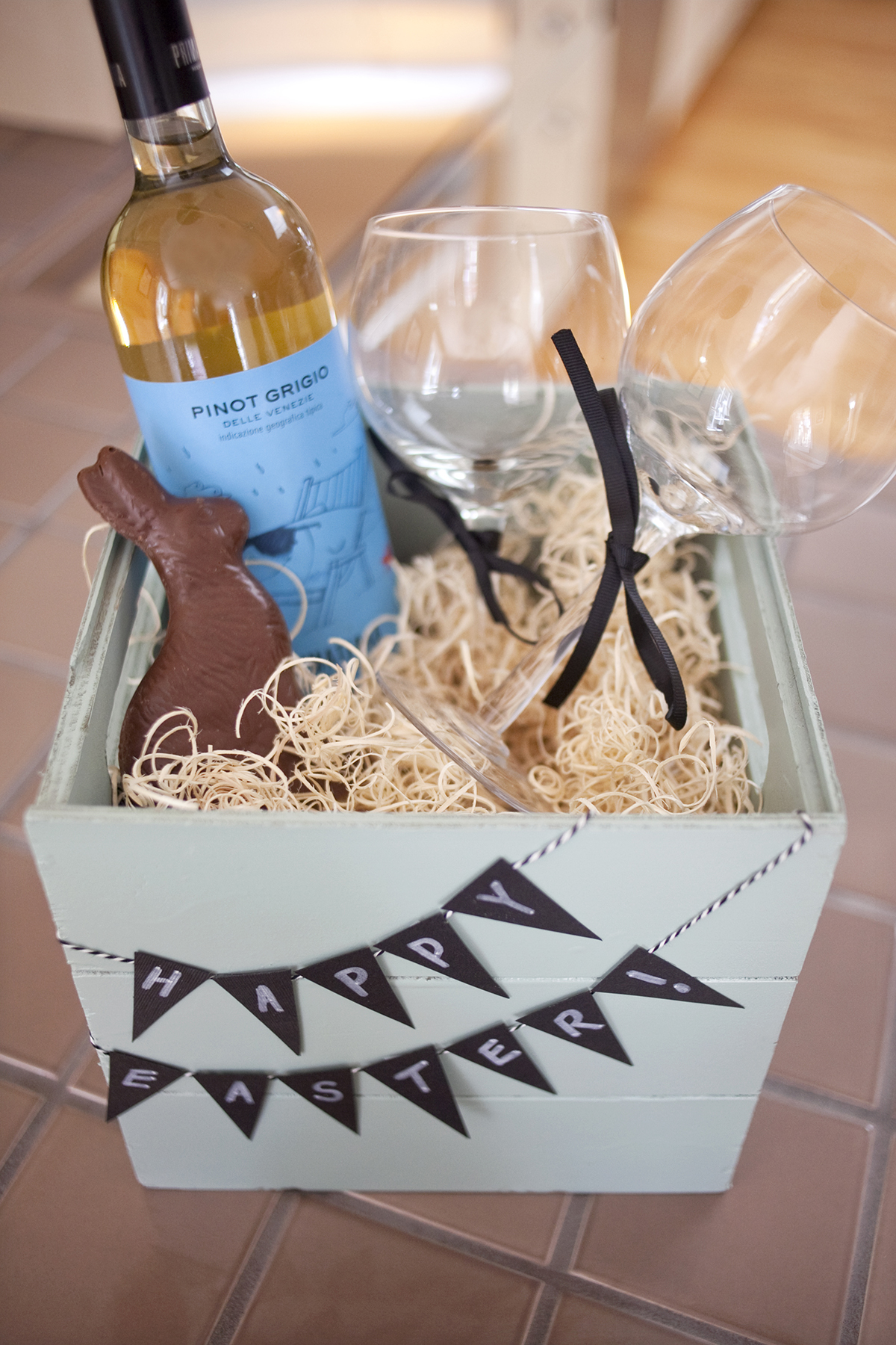 6 easter basket ideas for kids teenagers and adults wine lover basket negle Choice Image