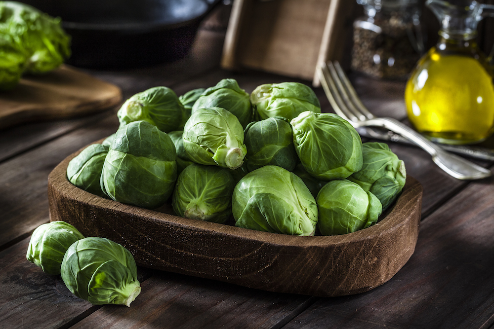 Winter Produce: Brussels Sprouts