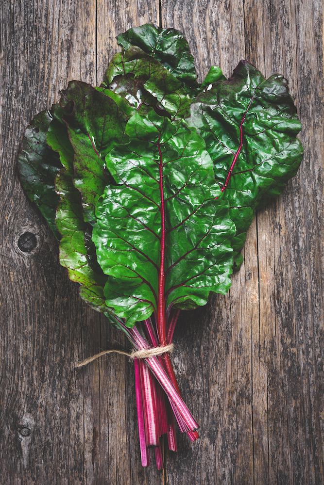 Winter Produce: Swiss Chard
