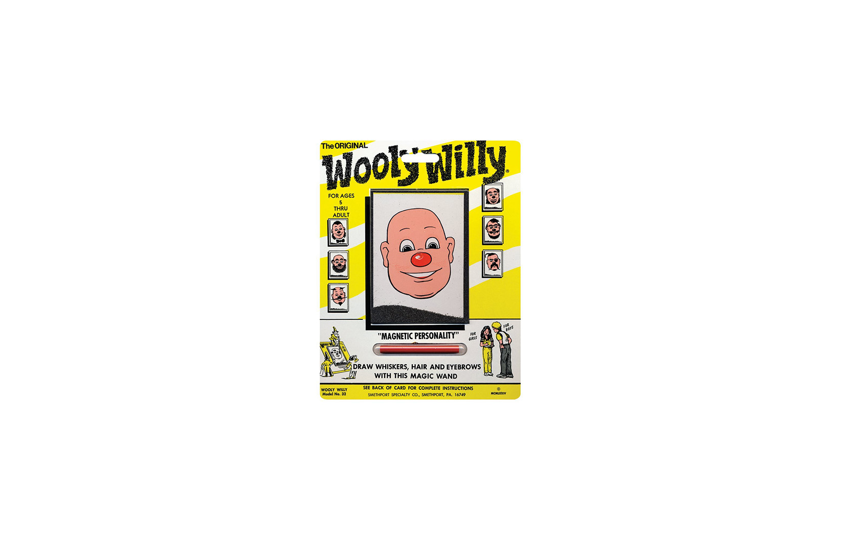 Wooly Willy Mini Games