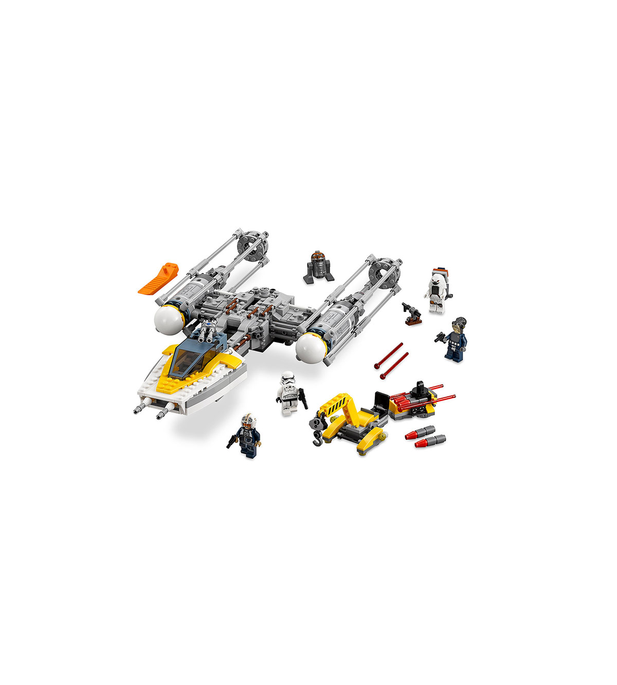 Y-Wing Starfighter Playset