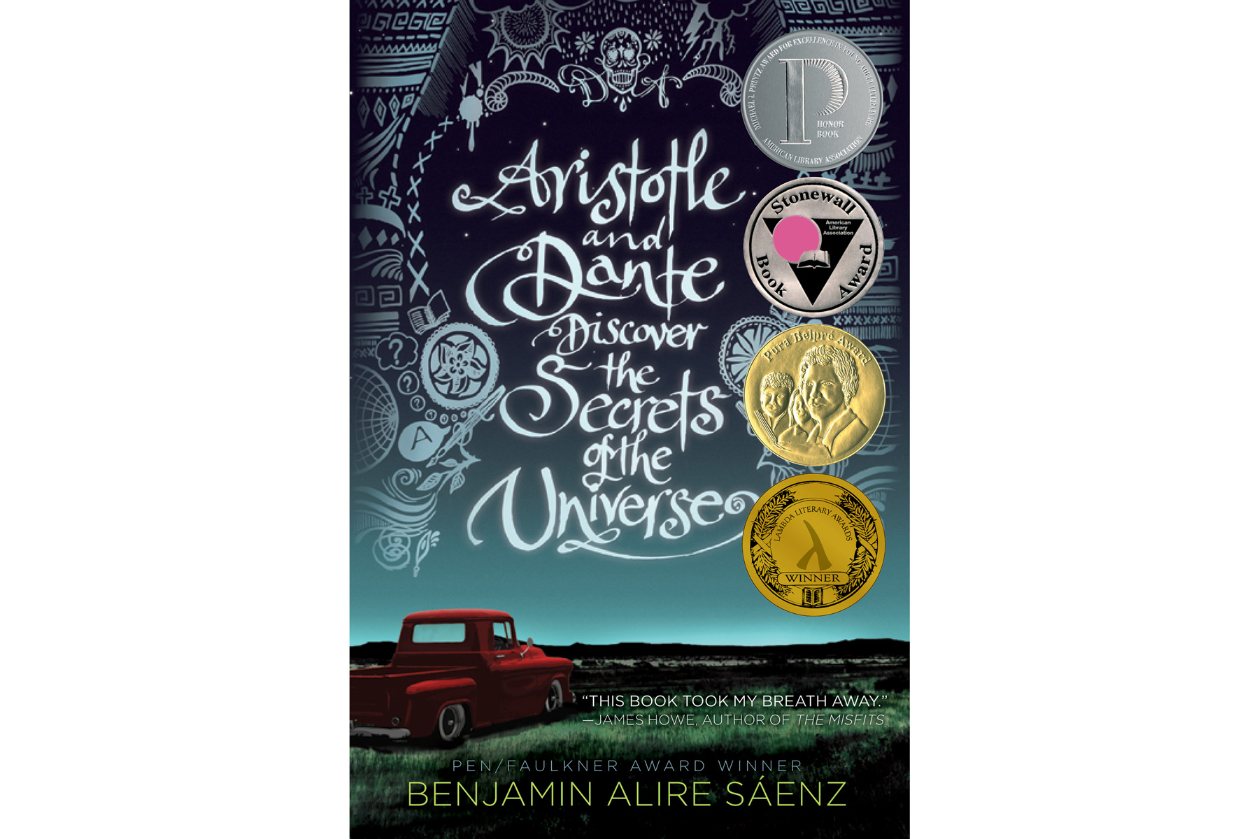 Aristotle and Dante Discover the Secrets of the Universe by Benjamin Alire Sáenz  (Bingeable Book)