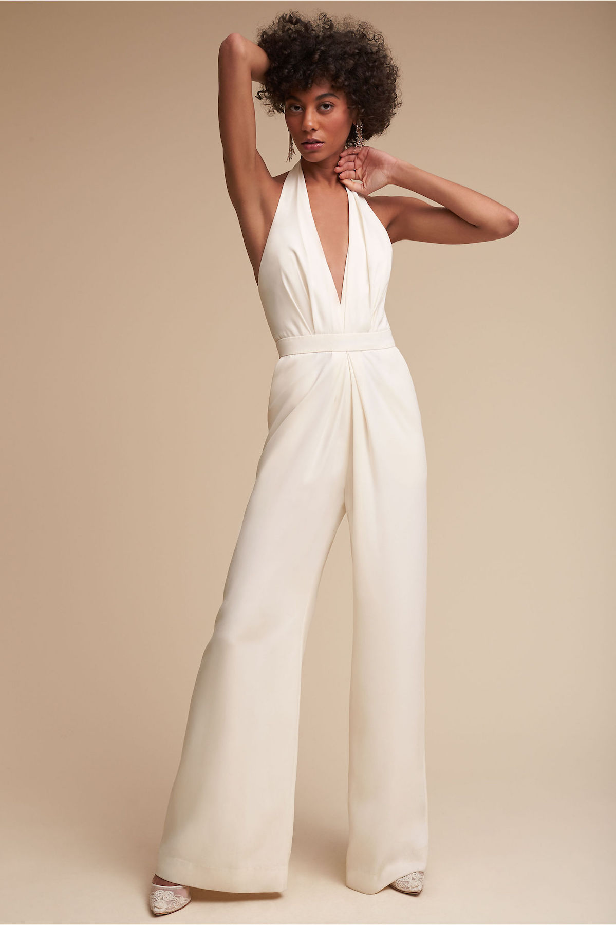 BHLDN Wedding Jumpsuit