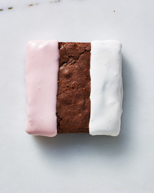 The Neapolitan Brownie