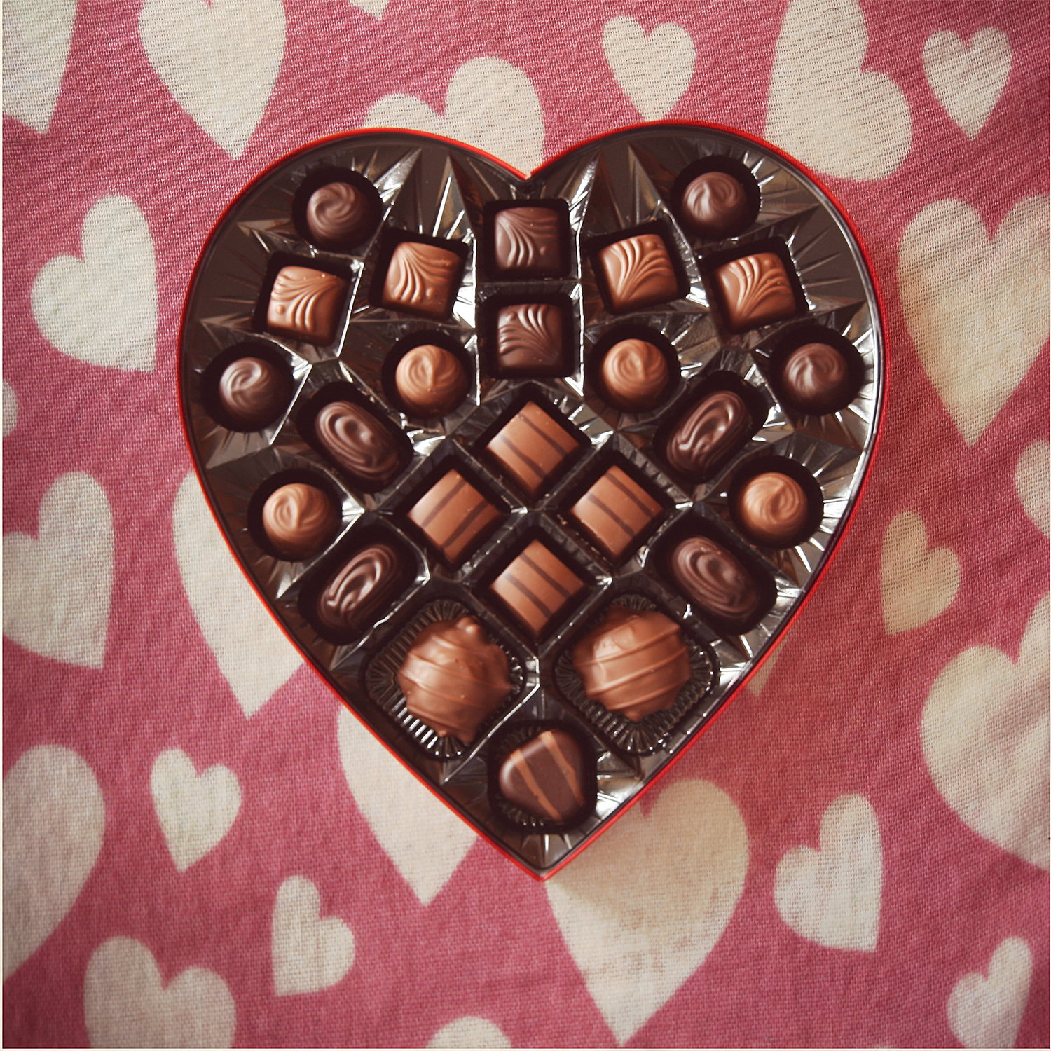 Chocolate Hearts Taylor