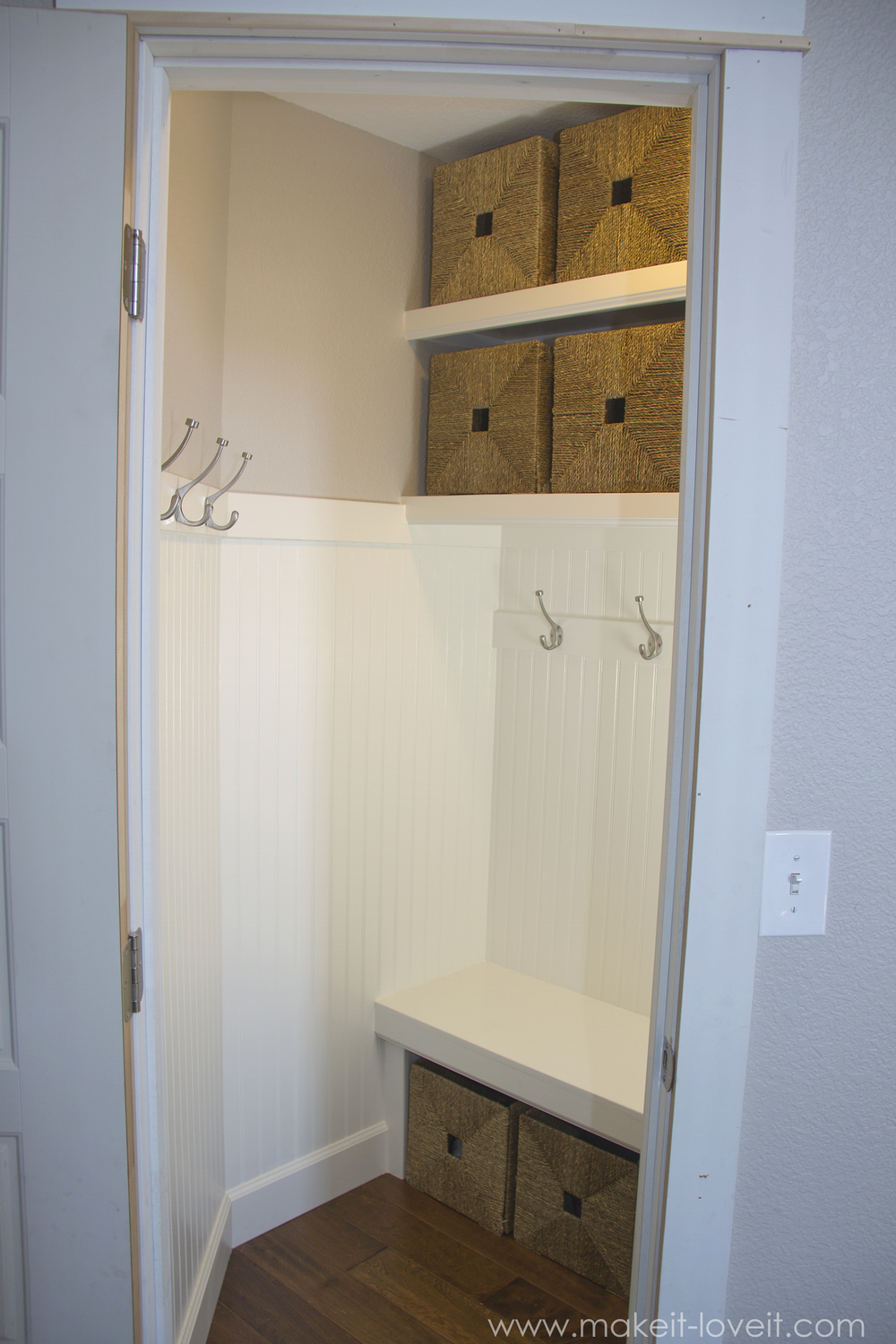 Coat Closet Mudroom