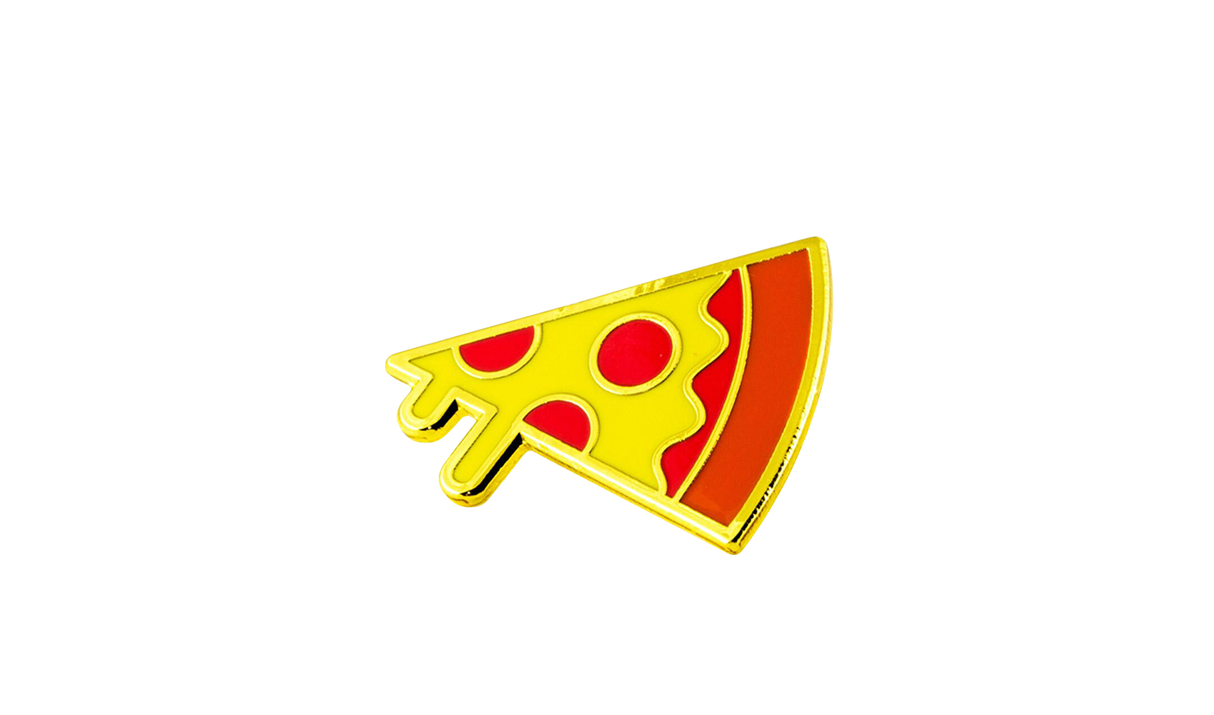 Delia's Pizza enamel pin