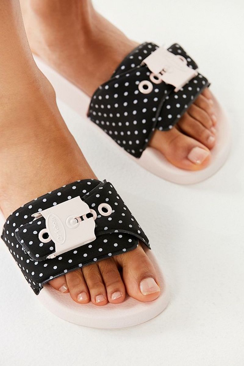 Dr. Scholl's Dotted Sandals
