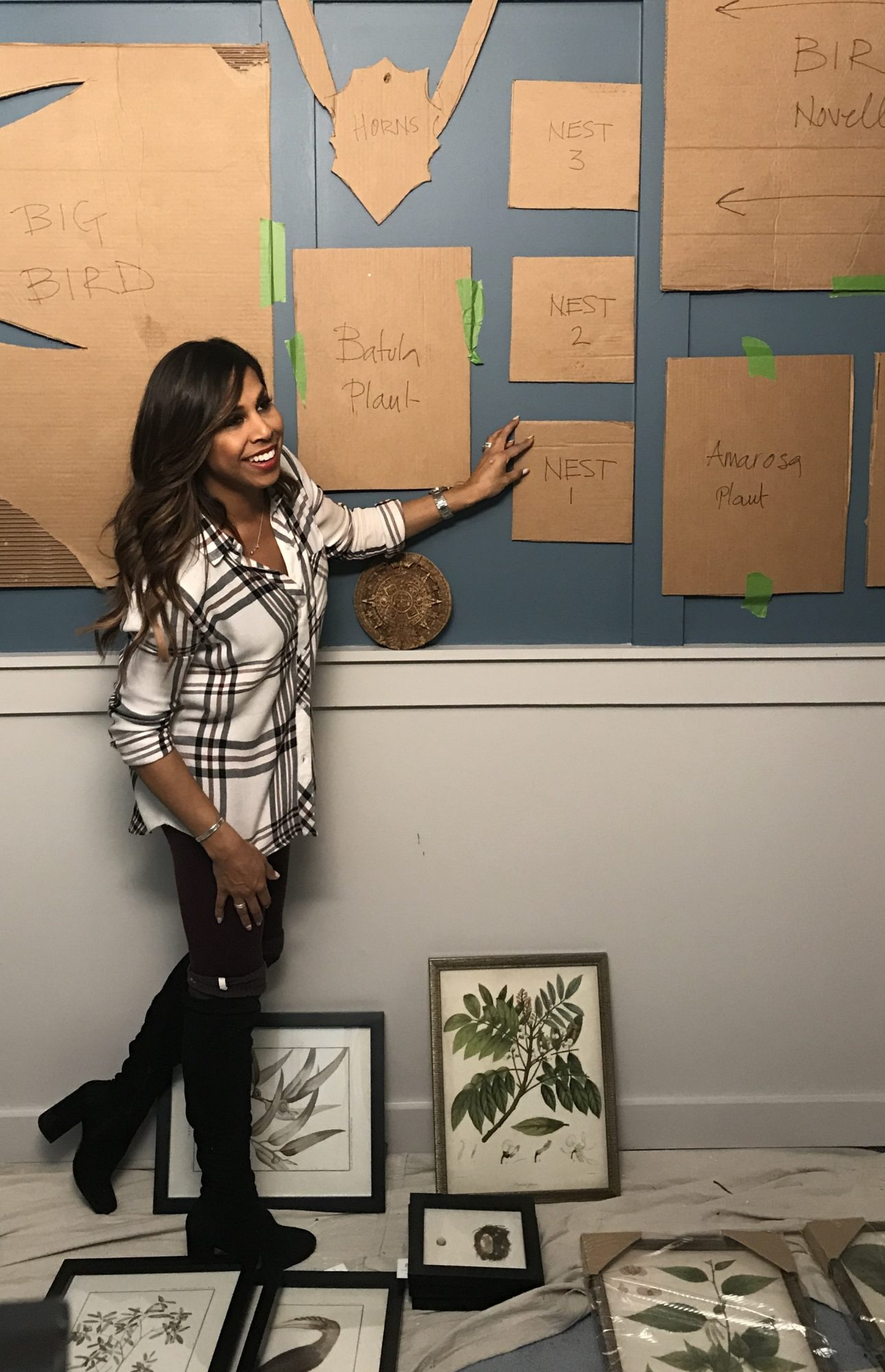 Map Out Your Gallery Wall