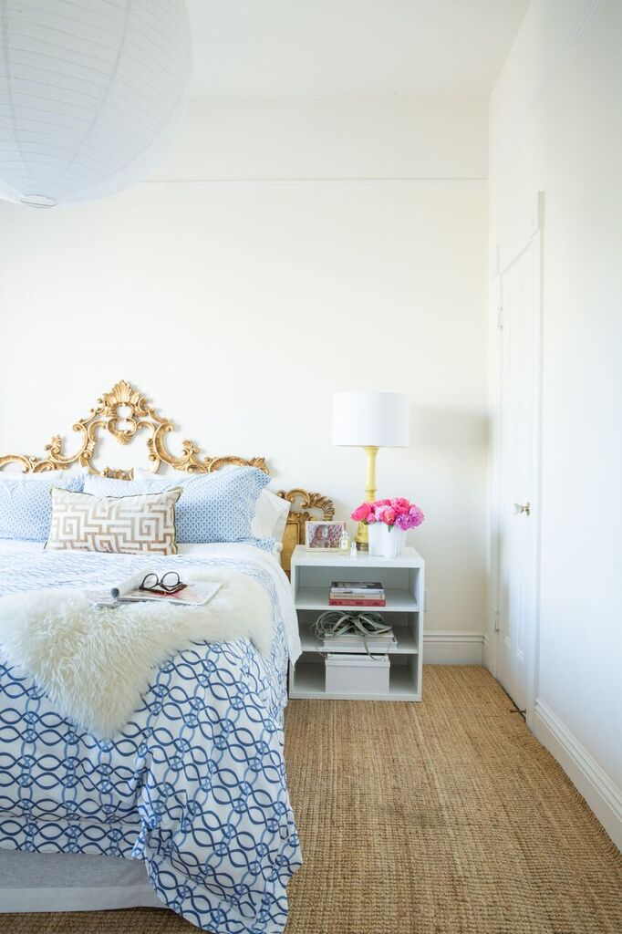 Keep Your Bedskirt in Place with Pins