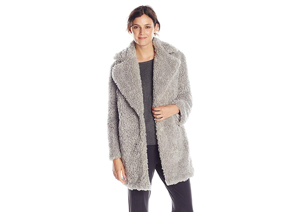 448170d2544 The Prettiest Teddy Bear Coats to Keep You Warm and Cozy | Real Simple
